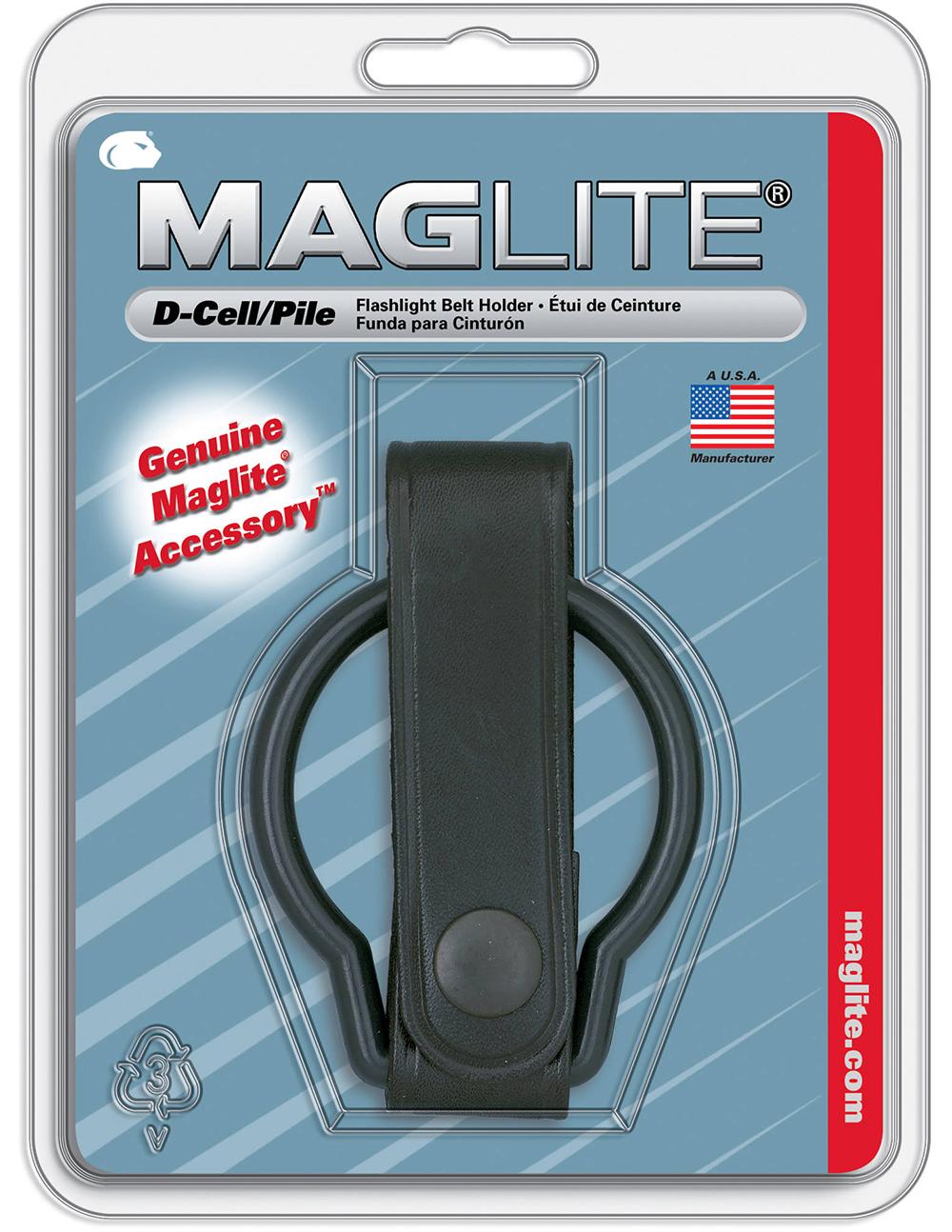 ASXD036 Держатель на ремень Maglite Маглайт для фонарей серии D-cell, в блистере