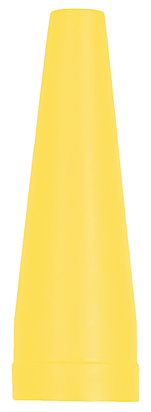 ASXX08b Hасадка Maglite Маглайт для фонаря, 19 см, желтый, в блистере, 0038739080031