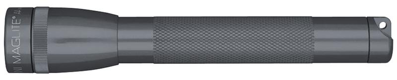 M2A09HE Фонарь Maglite Маглайт Mini, 2AA, серый, 14,6 см, в блистере, с чехлом