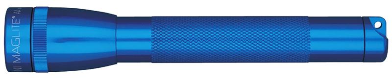 M2A11HE Фонарь Maglite Маглайт Mini, 2AA, синий, 14,6 см, в блистере, с чехлом