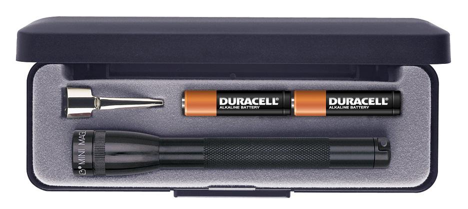 M3A012E Фонарь Maglite Маглайт, Mini, 2AAA, черный, 12,7 см, в пластиковой коробке, 0099999978469