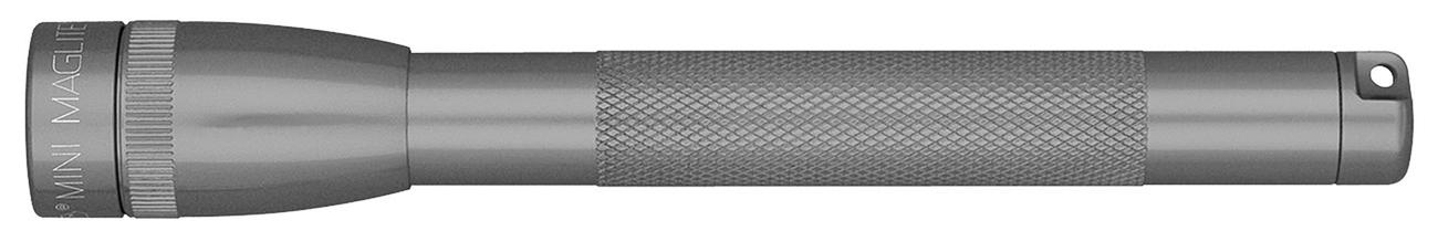 M3A096E Фонарь Maglite Маглайт, Mini, 2AAA, серый, 12,7 см, в блистере, 0038739167398