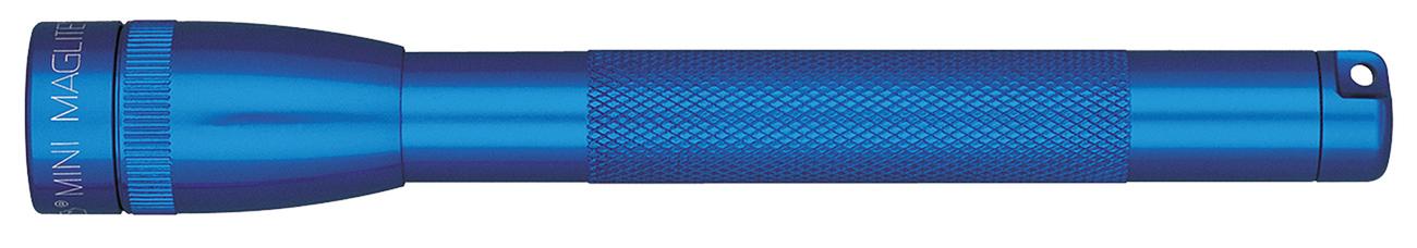 M3A116E Фонарь Maglite Маглайт, Mini, 2AAA, синий, 12,7 см, в блистере, 0099999119824