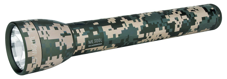 ML300L-S3MR5 Фонарь светодиодный Maglite Маглайт® ML300L™ 3G, 3D, 625 лм, 29,85 см, камуфляж, 0038739500546