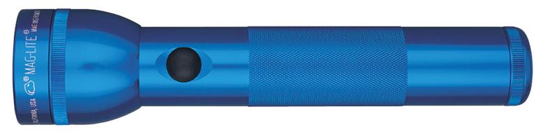 S2D115E Фонарь Maglite Маглайт, 2D, синий, 25 см, в картонной коробке, 0038739018386