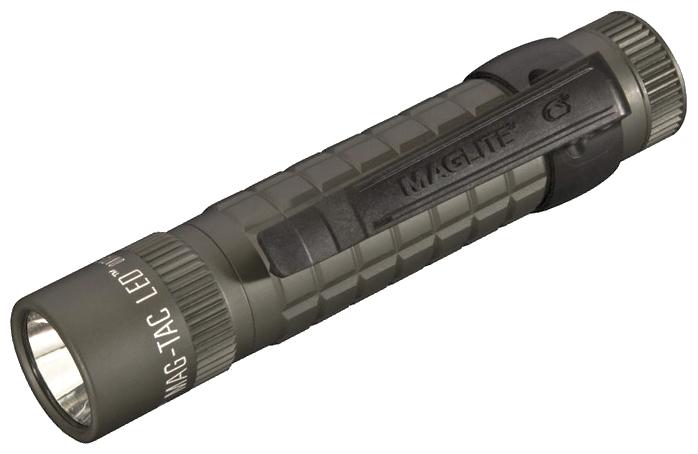 SG2LRF6 Фонарь Maglite Маглайт LED (светодиод), MAG-TAC®, 2CR123, плоский безель, зелёный, 13,4 см, 0038739670645