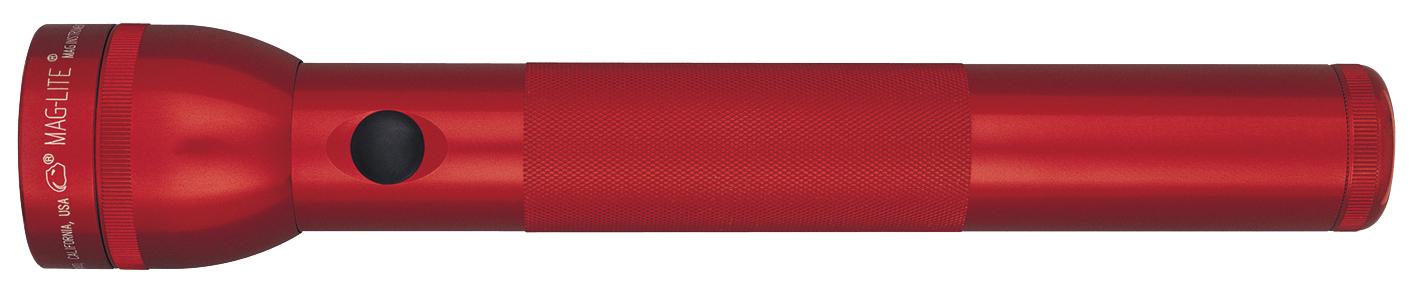 ST3D036E Фонарь Maglite Маглайт LED (светодиод), 3D, красный, 31,3 см, в блистере, 0038739510828