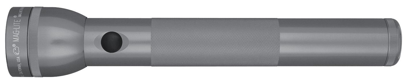 ST3D096E Фонарь Maglite Маглайт LED (светодиод), 3D, серый, 31,3 см, в картонной коробке, 0038739510835