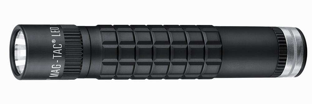 TRM4RE4 Фонарь светодиодный Maglite Маглайт MAG-TAC®, перезаряжаемый, плоский безель, черный, 0038739680309