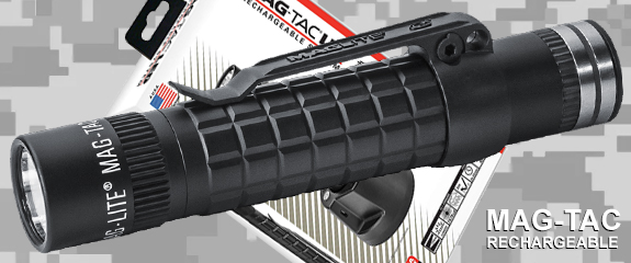 Фонарь Maglite MAG-TAC®rechargeable